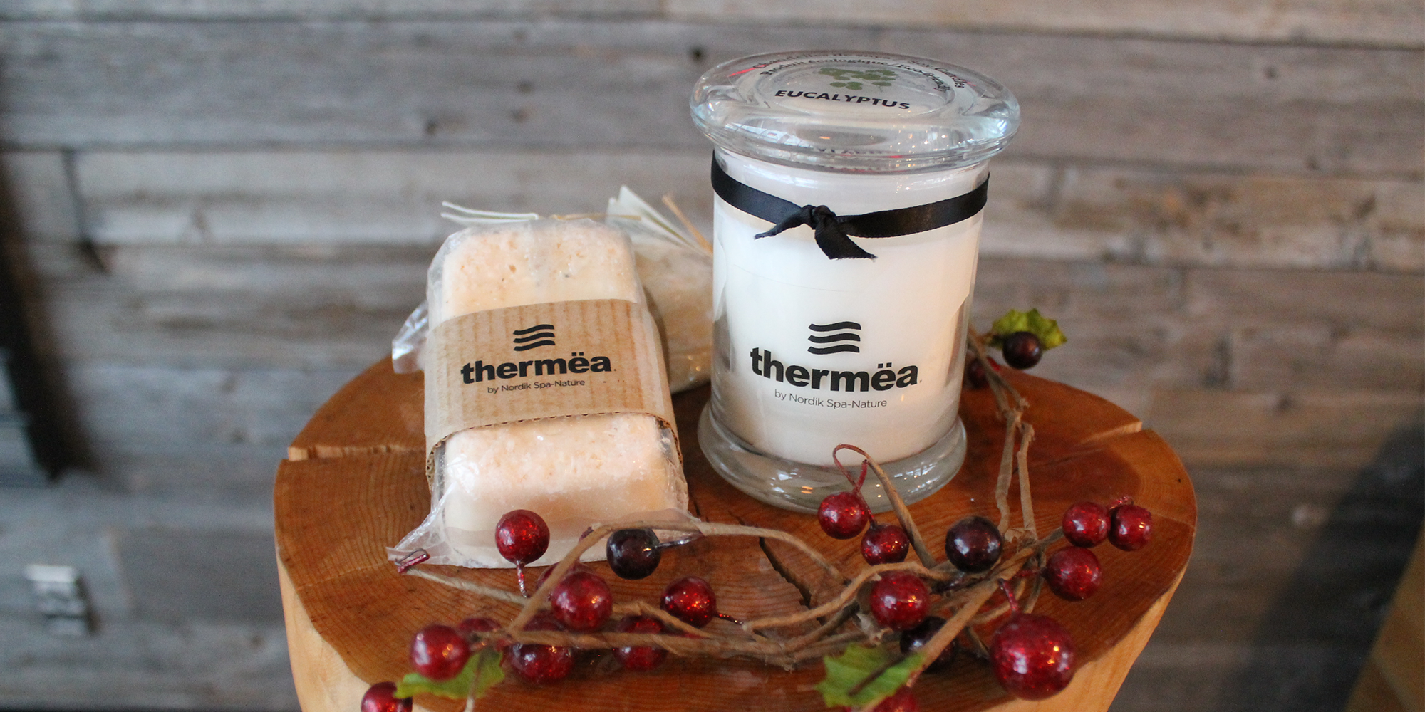 Thermëa candles and soap duo | 20.00$