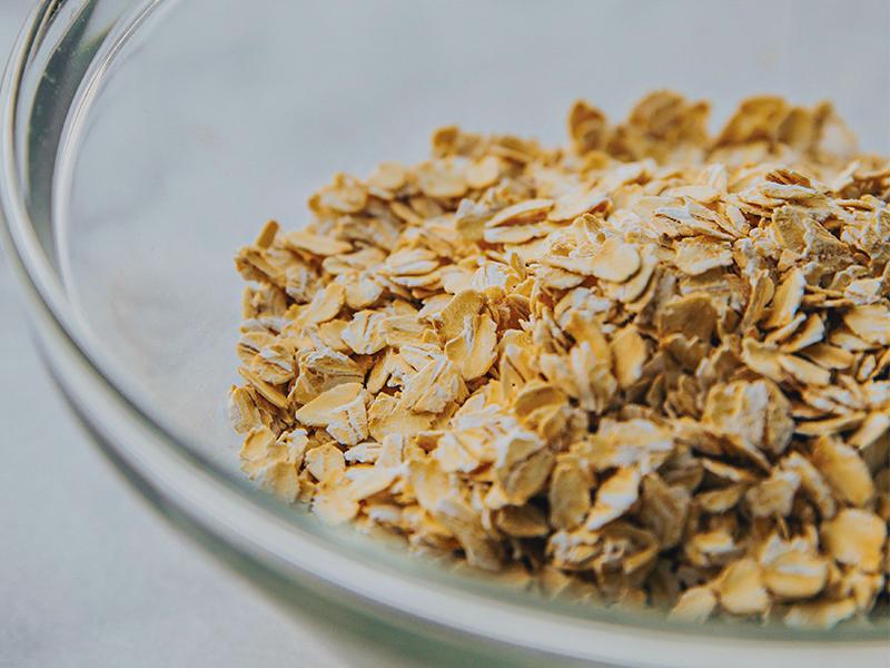 exfoliate oats