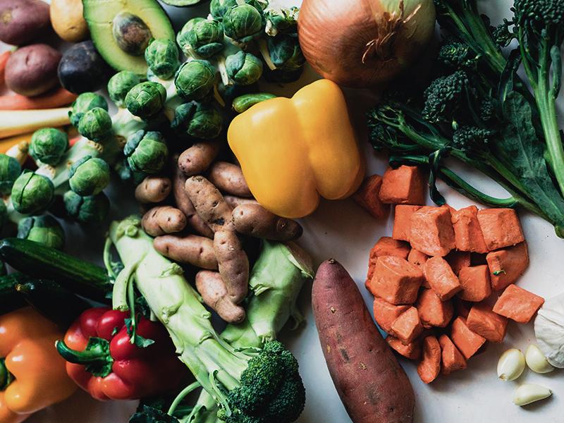 vegetables power bowl